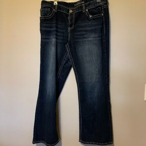 Maurices jeans size 22
